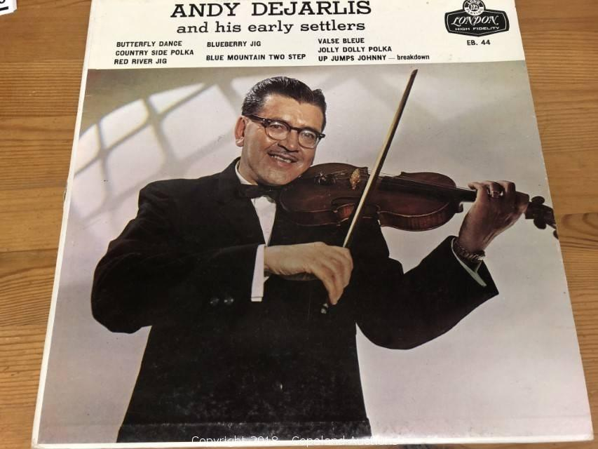Andy DeJarlis and His Early Settlers