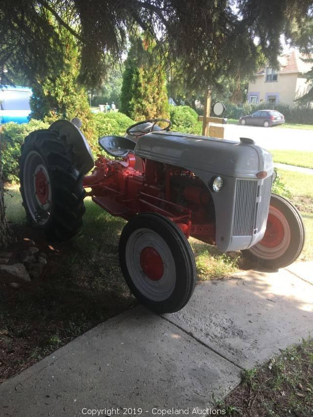 9n Ford Tractor >> 1944 9n Ford Tractor Rebuilt